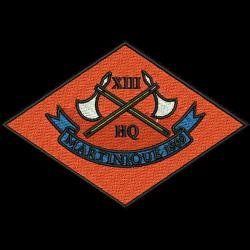 13 (Martinique 1809) Battery Polo Shirt