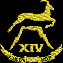 14 (Cole's Kop) Battery Polo Shirt