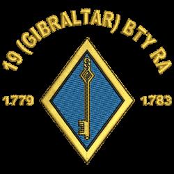 19 (Gibraltar) Battery Polo Shirt
