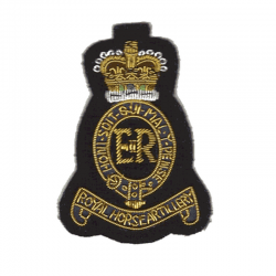 1st RHA Blazer Badge Small