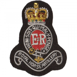 3rd Royal Horse Artillery Blazer Badge