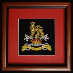 Framed MPGS Badge
