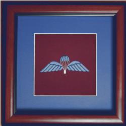Framed Royal Para Wings Badge
