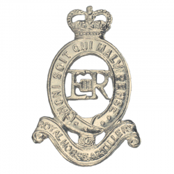 RHA Cap Badge