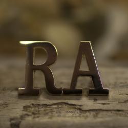 RA Shoulder Titles WOs