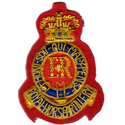 Royal Horse Artillery Side Hat Badge