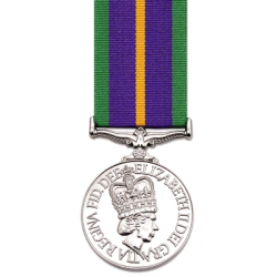 Accumulated Service Miniature Medal
