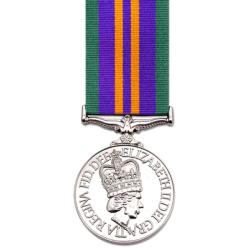 Accumulated Service Miniature Medal 2011