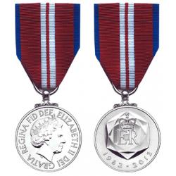 Queen's Diamond Jubilee Miniature Medal