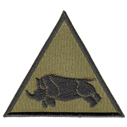 1 (UK) Armoured Division Patch