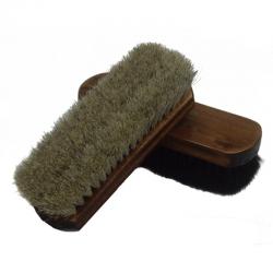 Horse Hair Boot Brush