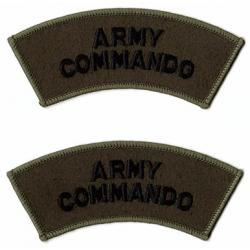 Army Commando Shoulder Flash