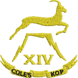 14 (Cole's Kop) Battery Polo Shirt