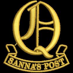 Q (Sanna's Post) Battery  Polo Shirt