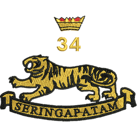 34 (Seringapatam) Battery T-Shirt