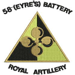 58 (Eyre's) Battery T-Shirt