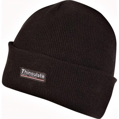 Bob Beanie Hat Black