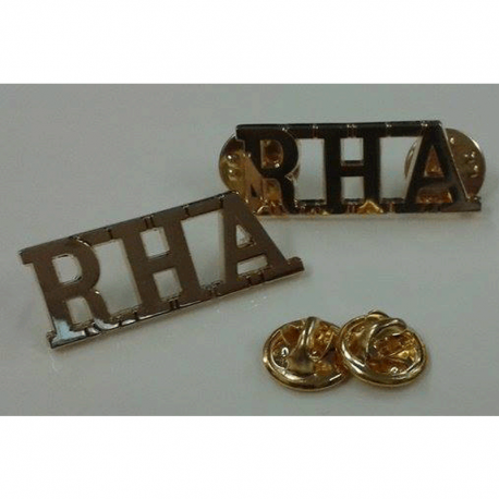 RHA Shoulder Titles