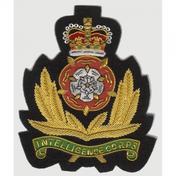 Intelligence Corps Blazer Badge