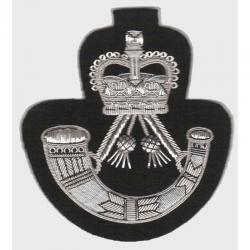 Rifles Blazer Badge