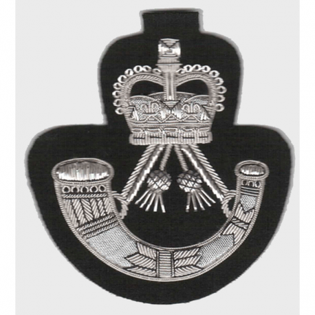 Rifles Blazer Badge