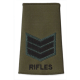 Rifles Olive Rank Slide