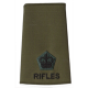 Rifles Officer Rank Slide