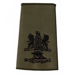 WO1 MG Olive Green Rank Slide