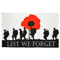 Least We Forget Flag