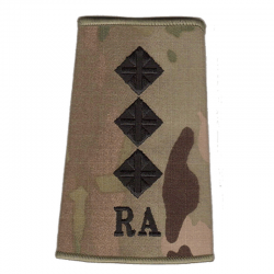 RA Officer Rank Slide Multicam