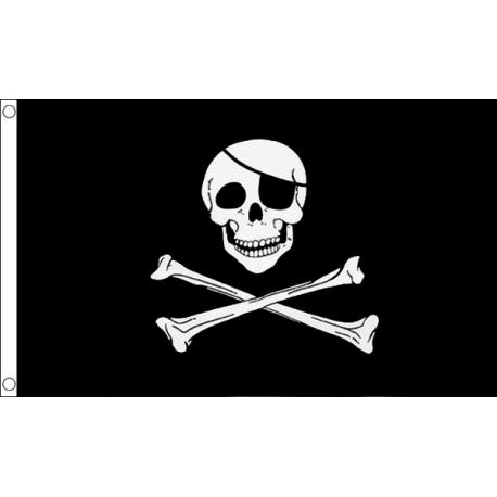 Scull & Cross Bones Flag