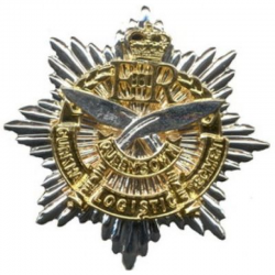 Queen's Own Gurkha Logistic Regiment Cap Badge
