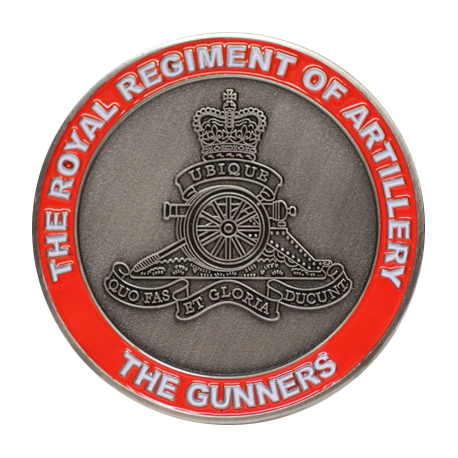 Royal Artillery Coin