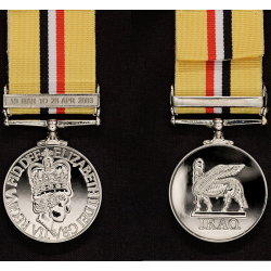Iraq Op Telic Miniature Medal