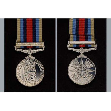 (OSM) Afghanistan Miniature Medal