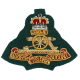 Royal Artillery Commando Cloth Cap Badge