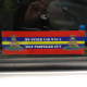 Royal Artillery Car Window Cling