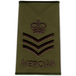 Mercian Olive Rank Slide