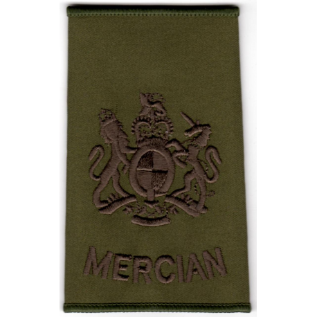 Mercian WO1 Rank Slide