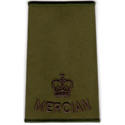 Officer Mercian Rank Slide