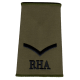 RHA Olive Rank Slide L Bdr