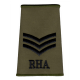 RHA Olive Rank Slide Sgt