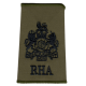 RHA Olive Rank Slide WO1