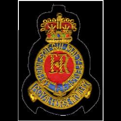 3rd RHA Cloth Beret Badge