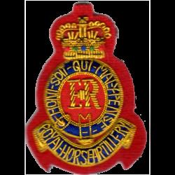 Royal Horse Artillery Side Hat Badge