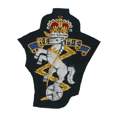 REME Cloth Beret Badge