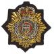 RLC Cloth Beret Badge