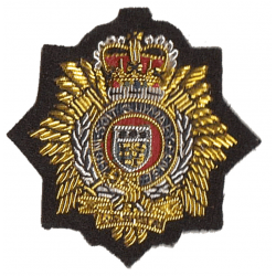 RLC Cloth Beret Badge