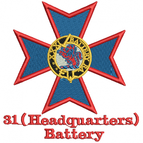31 Headquarters Battery T-Shirt