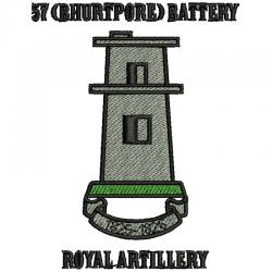 57 (Bhurtpore) Battery T-Shirt